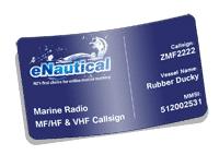 Marine Radio MF/HF & VHF Callsign